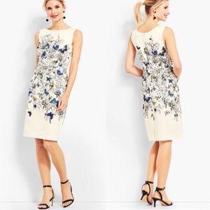 RSVP By Talbots Butterfly Sheath Dress NWT